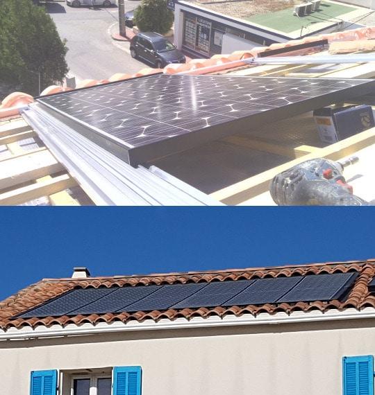 Produire son électricité Modules photovoltaïques PV en toiture