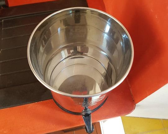 Cuve basse du purificateur d'eau Berkey