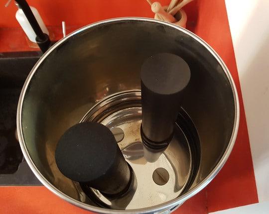 Cuve haute du purificateur d'eau Berkey